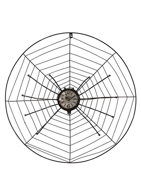 Vitale Cool Örümcek Metal Duvar Saati Renkli